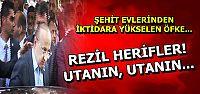 BAKANA PET ŞİŞE FIRLATTILAR...