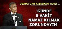 'GÜNDE 5 VAKİT NAMAZ KILMAK ZORUNDAYIM'
