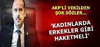 'KADINLARA BİRŞEY VERİLMEMELİ'