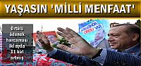 ÖRTÜLÜ ÖDENEKTE 'MİLLİ MENFAAT'