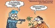 PENGUEN ÖDTÜ'YÜ ÇİZDİ