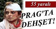 PRAG'TA PATLAMA: 55 YARALI...