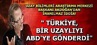 UZAYLININ TARİFİNİ BİLE YAPTI...