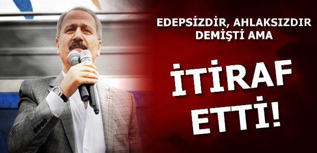 VE SONUNDA İTİRAF ETTİ!