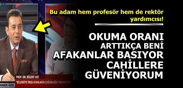 YENİ TÜRKİYE'NİN REKTÖRÜ...